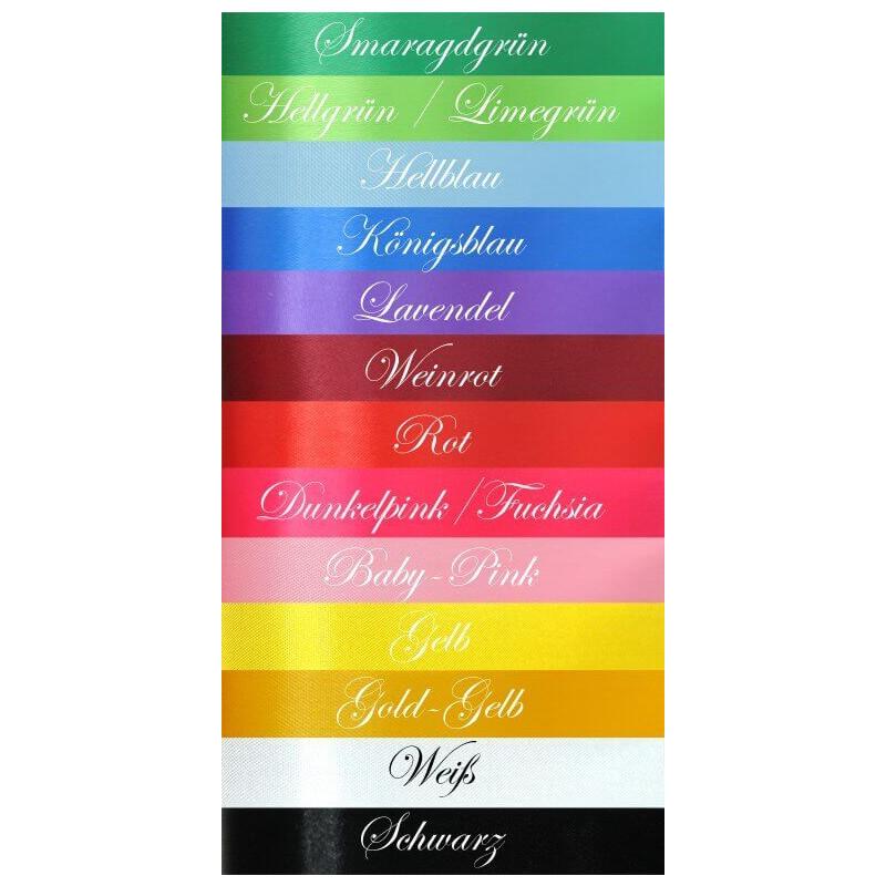 Kolory wstążki tortowej