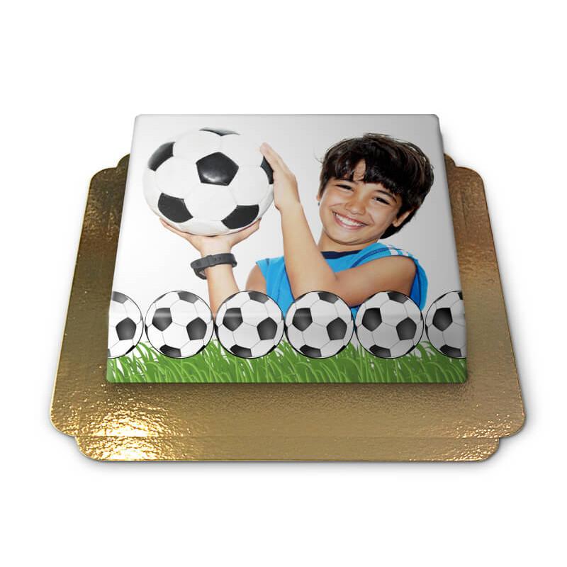Tort ze zdjęciem - piłka nożna