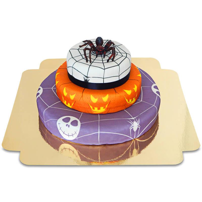 Halloween 3 - Spinne auf Grusel-Torte