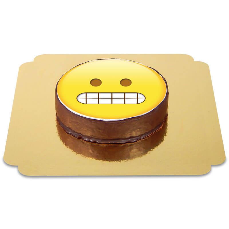 Gâteau Sacher Emoji Narquois