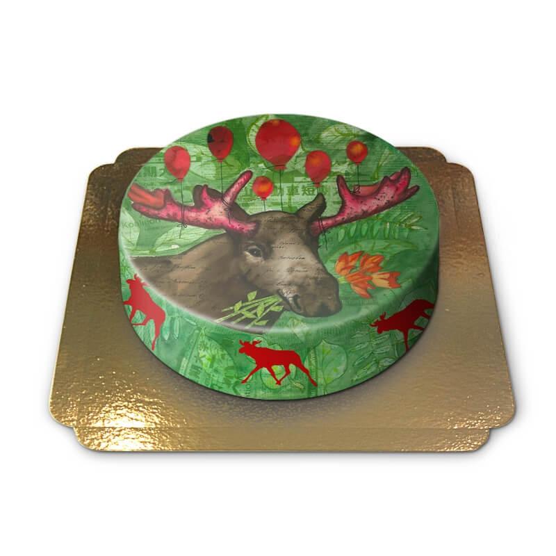 Pia Lilenthal Älg tårta