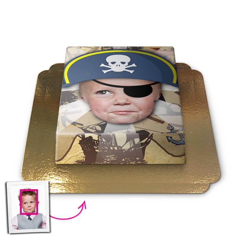 Tort Face-Cake - Pirat