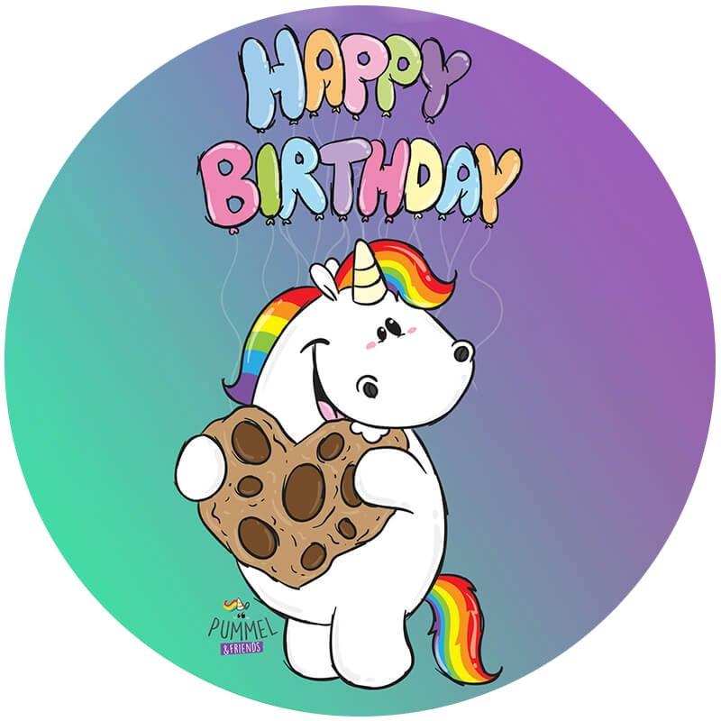 grafik pummel aufleger happy birthday