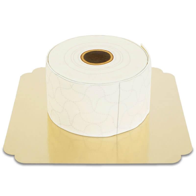 Toilettenpapier-Torte - doppelte Höhe