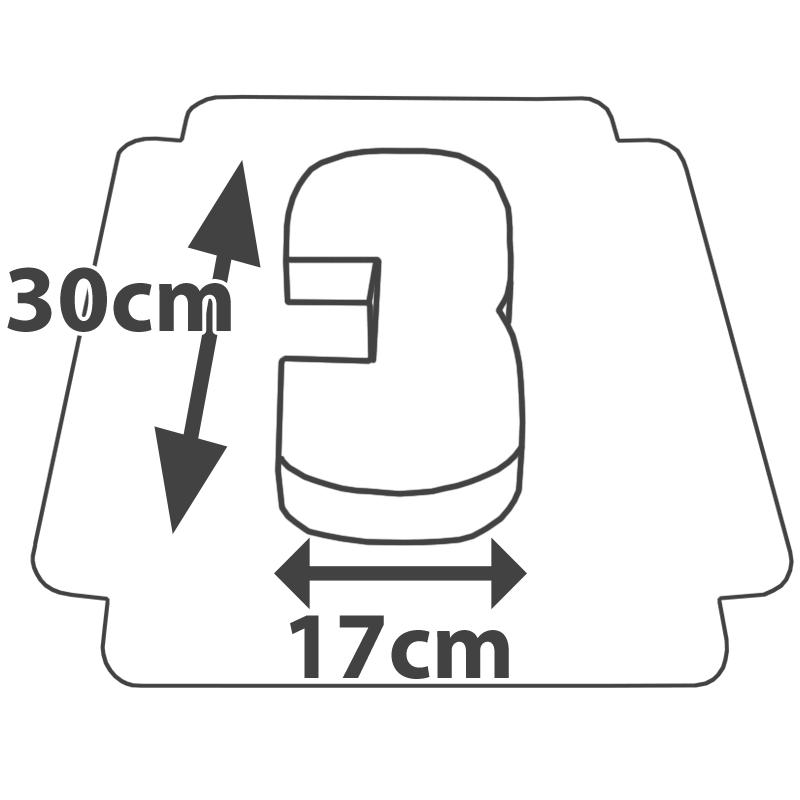 Wymiary - Tort w kształcie cyfry