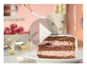 Gâteau fourrage à la cerise