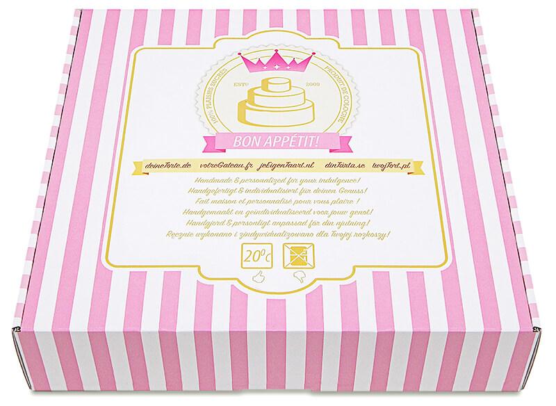 Emballage d'gâteau