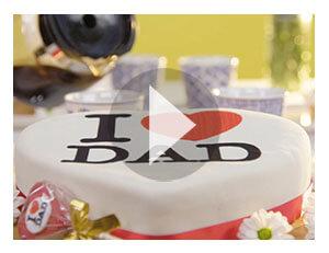 De délicieux gâteaux pour la fête des pères