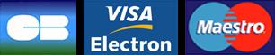 Visa Electron, Maestro et Carte Bleue